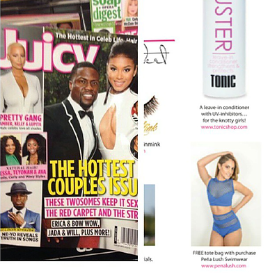 JUICY Magazine ft. Pena Lush